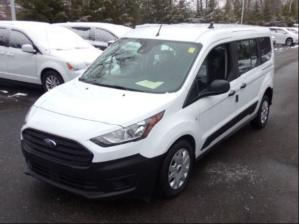 White Ford Transit Connect image number 9
