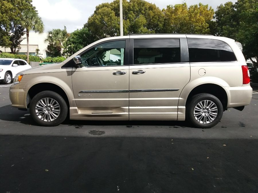 Gold Chrysler Town and Country image number 14