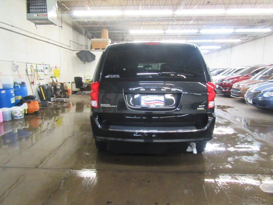 Black Dodge Grand Caravan image number 4