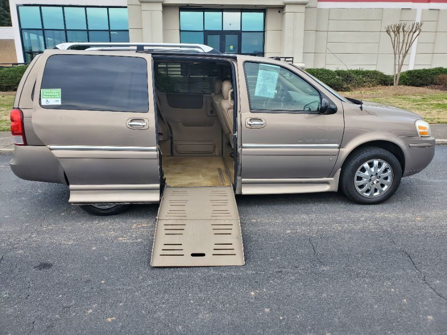 Brown Buick Terraza with Side Entry Automatic Fold Out ramp
