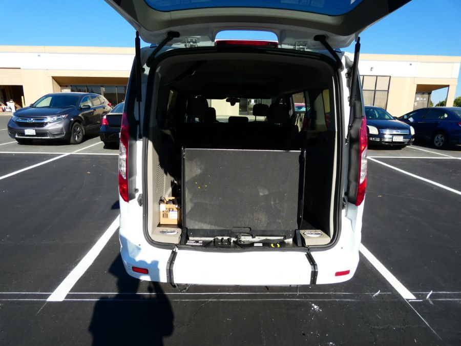 White Ford Transit Connect Wagon image number 6