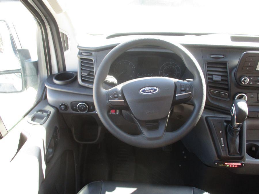 White Ford Transit Passenger image number 4