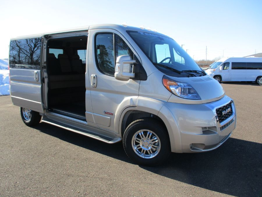 Brown Ram ProMaster Cargo with Side Entry   ramp