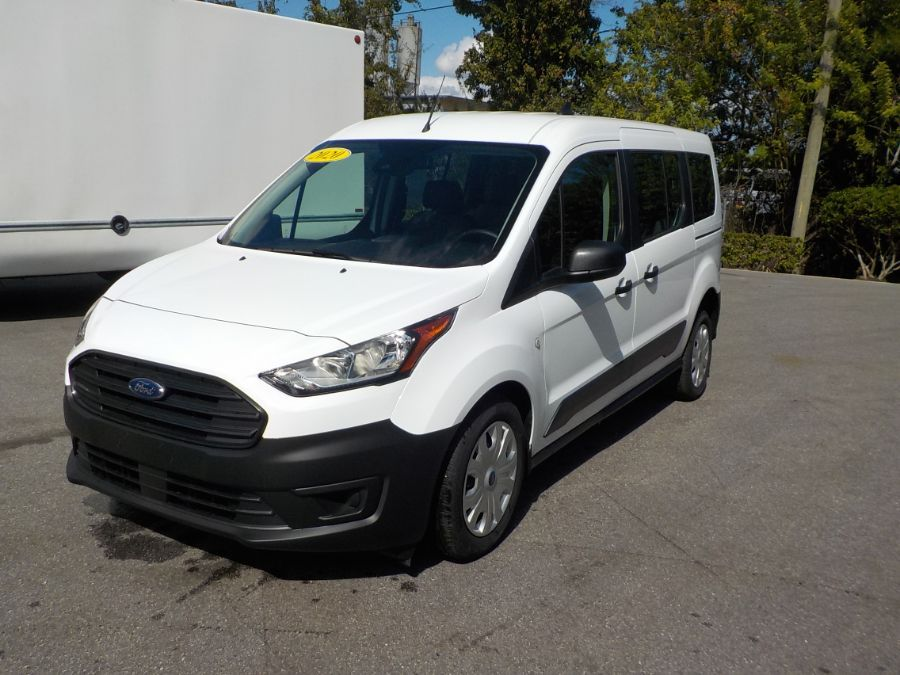 White Ford Transit Connect image number 3