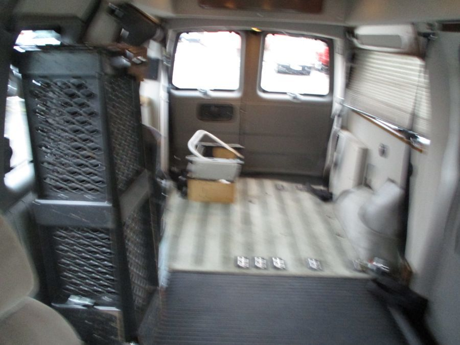Silver Chevrolet Express Cargo image number 20