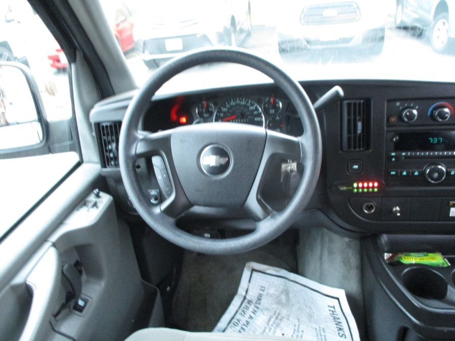 Silver Chevrolet Express Cargo image number 9