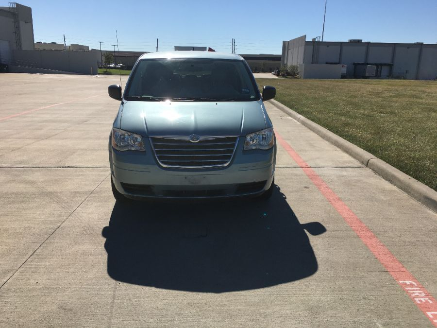 Blue Chrysler Town and Country image number 1