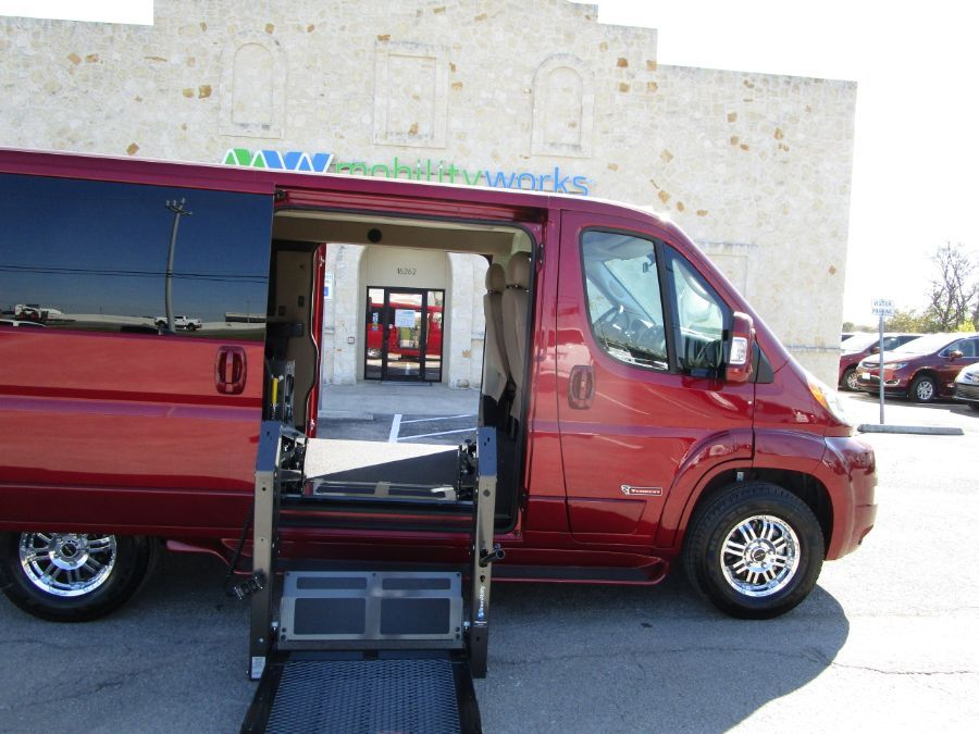 Gray Ram ProMaster Cargo with Side Entry N/A N/A ramp