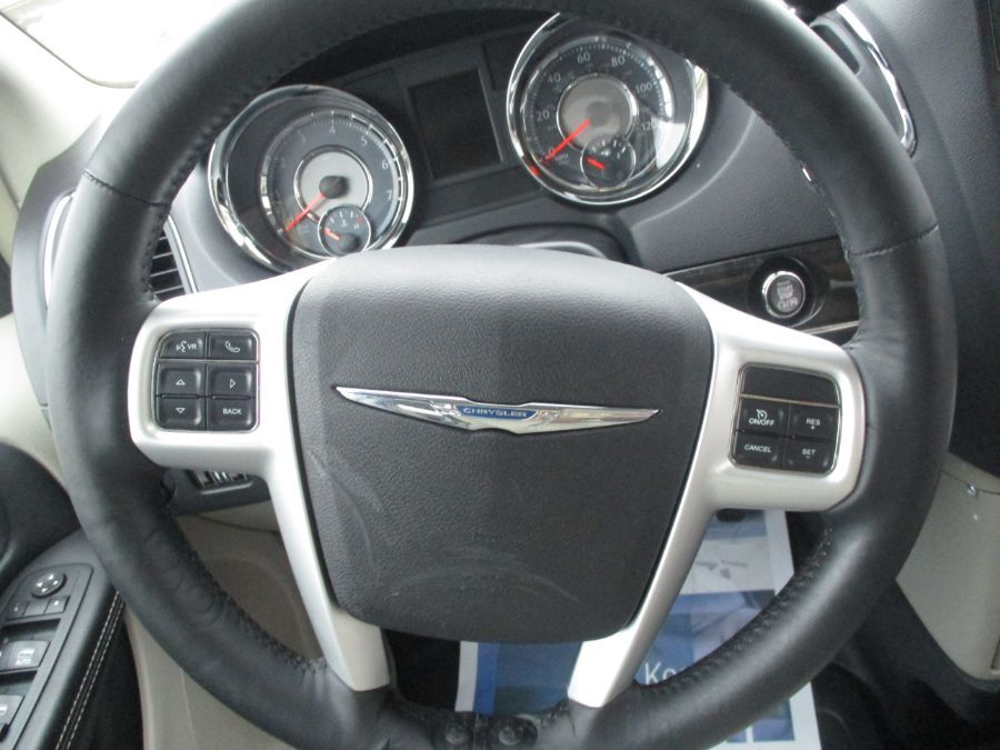 Red Chrysler Town and Country image number 9