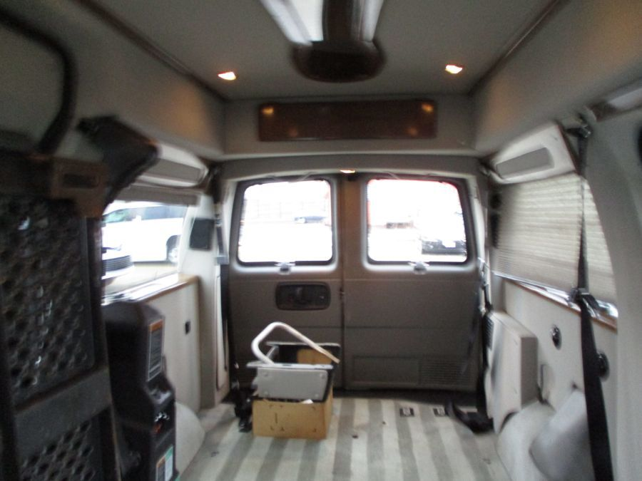 Silver Chevrolet Express Cargo image number 22