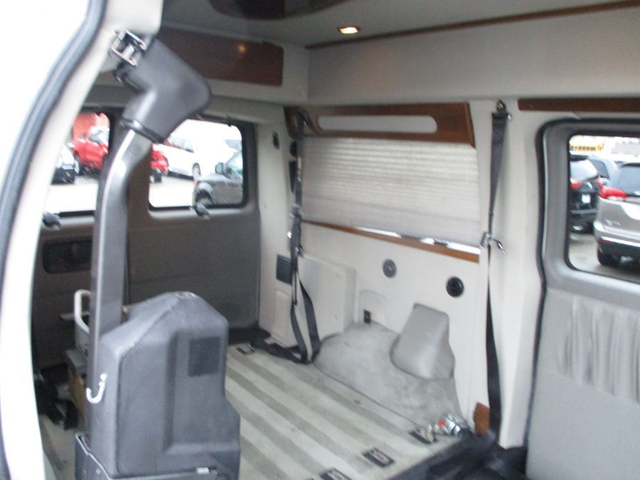 Silver Chevrolet Express Cargo image number 6