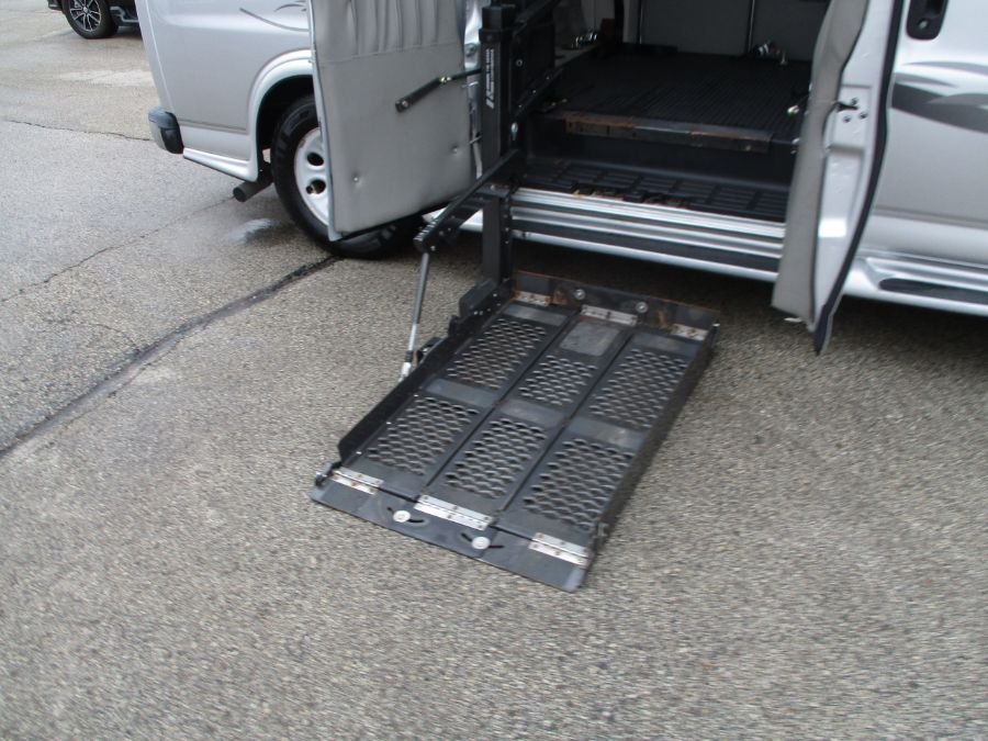 Silver Chevrolet Express Cargo image number 1