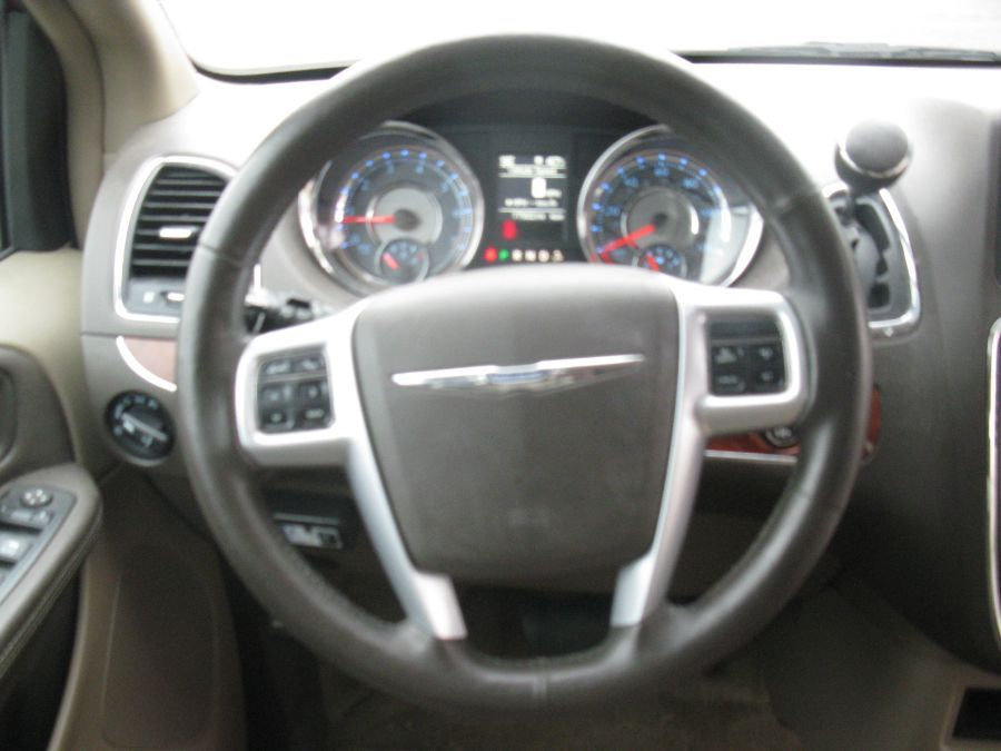 Red Chrysler Town and Country image number 10