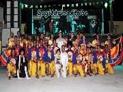 Quadrilha Tradição esse ano trouxe como tema 'Baião made in sertão', enredo que conta a história do ritmo musical nordestino.