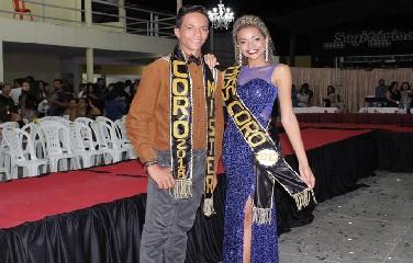 Vanessa Silva Lopes e João Lucas Alves, foram eleitos Miss & Mister Coró 2018