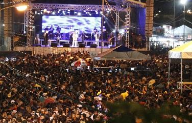 A festa celebra os 83 anos de emancipação politica do município.