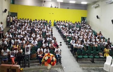 Seminário contou com um público de 450 Profissionais em Educação da região sisaleira