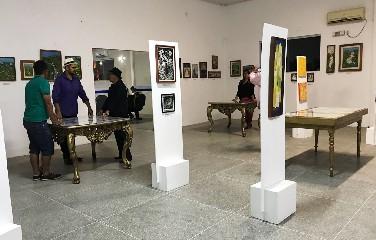 A exposição é gratuita e fica em cartaz até o próximo dia 21.