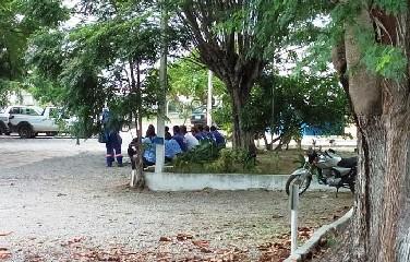 Funcionários de empresa terceirizada da Embasa paralisam atividades em Coité
