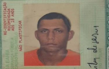 Miraldo Santos de Jesus, 25 anos