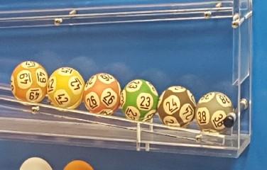 Dezenas sorteadas na Mega-Sena