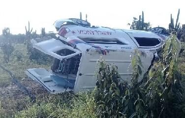 PRE informou que não houve vítimas fatais no acidente, no entanto, os nomes das vitimas não foram divulgados.