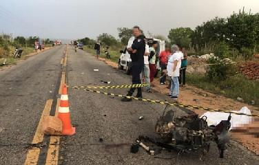 Motorista do caminhão evadiu do local com medo de ser linchado e se apresentou a Polícia