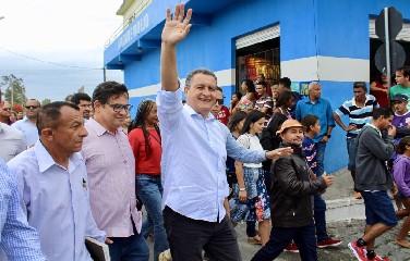 Rui Costa visitou a cidade de Nordestina nesta sexta-feira, 19