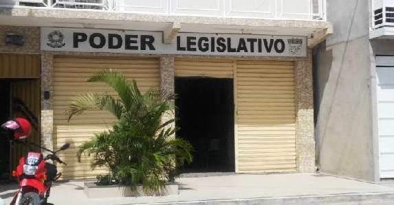 Câmara de Vereadores de Nova Fátima, na Bacia do Jacuípe.