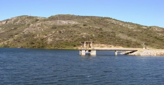 Barragem do Zabumbão, no sudoeste baiano