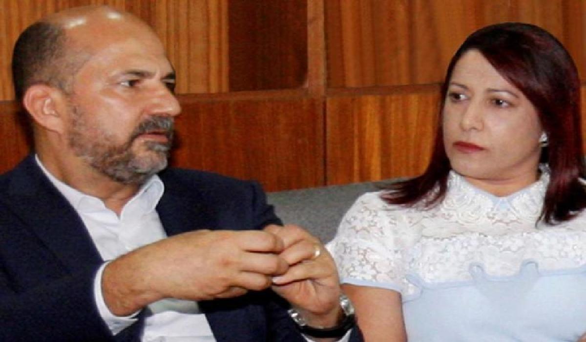 Cláudia e José Robério foram alvos de mandados de condução coercitiva