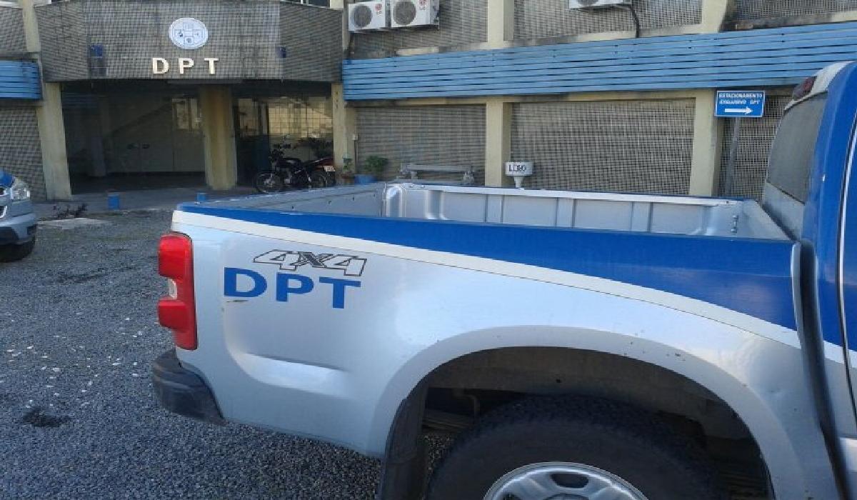 O corpo foi encaminhado para o Departamento de Polícia Técnica (DPT)