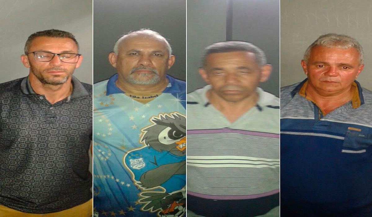 Quatro suspeitos de assaltos a bancos são presos na BA
