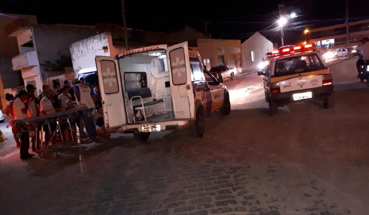 Os acidentes foram registrados pela Guarda Municipal (GCM) de Santaluz.