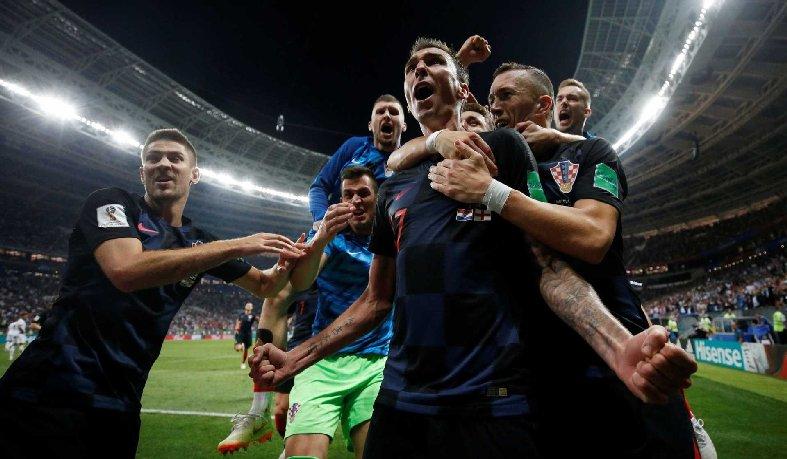 O triunfo aconteceu de virada e já na prorrogação da semifinal em Moscou.