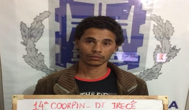 Homem foi preso após dar 15 facadas na companheira na Bahia