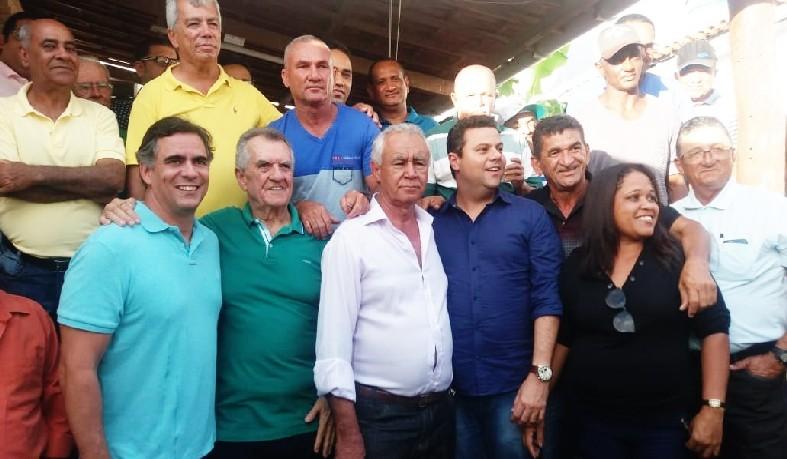 Grupo se reuniu na casa do ex-prefeito e líder do partido, Joélcio Martins, contou com grande participação popular e de líderes do quadro local