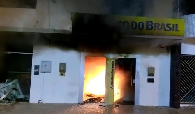 Agência do Banco do Brasil de São domingos, atacada por criminosos
