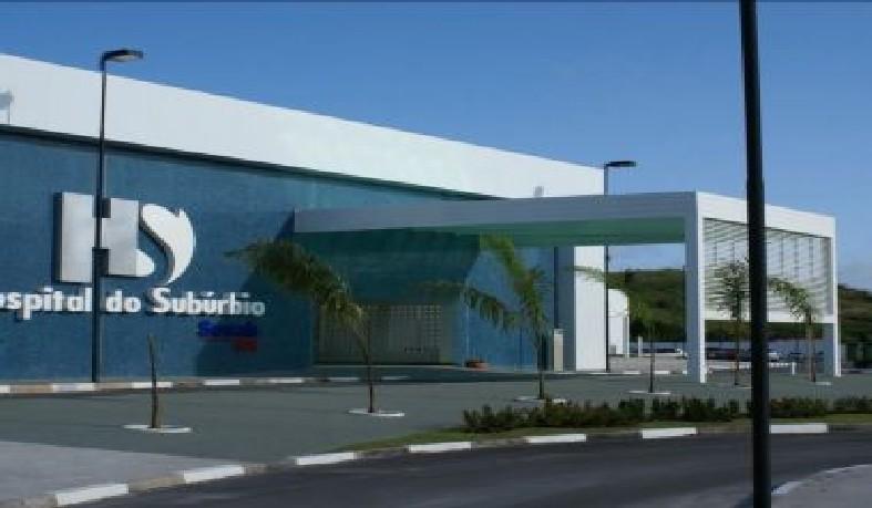 Hospital do Subúrbio, em Salvador.