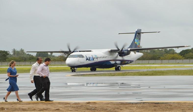 Aeroporto de Feira de Santana iniciará as operações de voos diários para São Paulo, em caráter experimental.