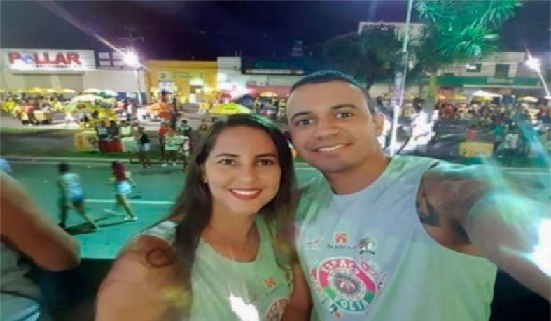 Assalto resultou na morte Ana Carla dos Santos Leite, mulher do tenente da Polícia Militar Fábio Emanuel Oliveira dos Santos.