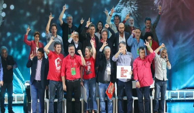 Ex-presidente foi confirmado durante a convenção nacional da legenda, neste sábado (4), em SP
