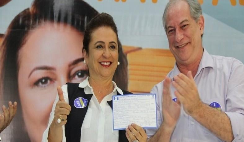A opção de Ciro, que tem o apoio de apenas um partido em sua coligação, o Avante, visa dar espaço à senadora que trocou o MDB pelo PDT em abril