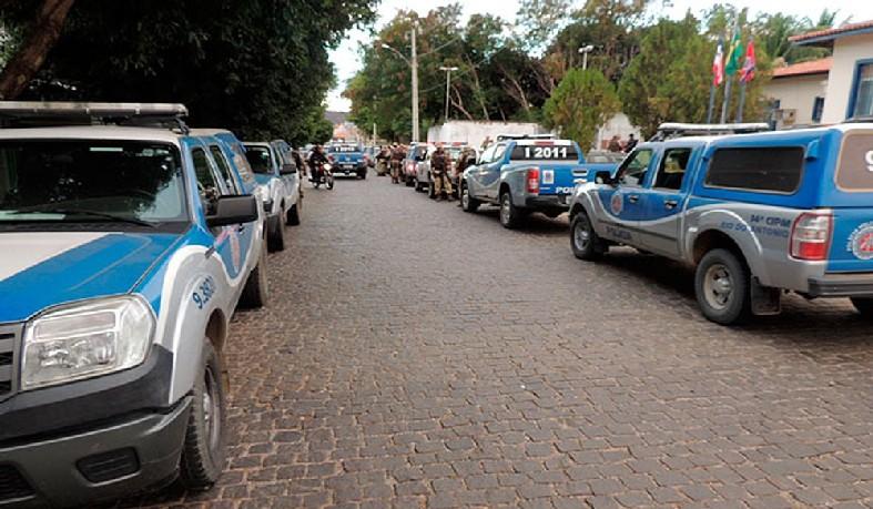 Ação da Polícia Militar na Bahia