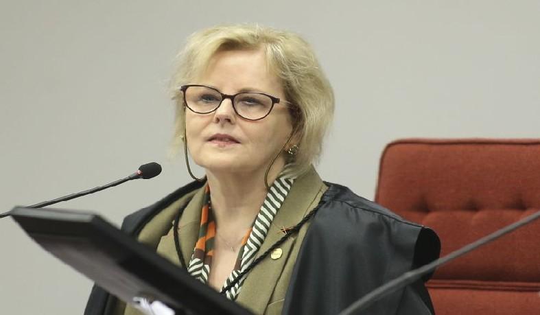 A ministra do STF Rosa Webe