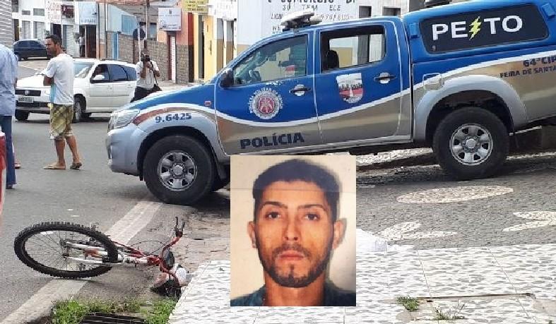 A vítima foi atingida por vários tiros na cabeça.
