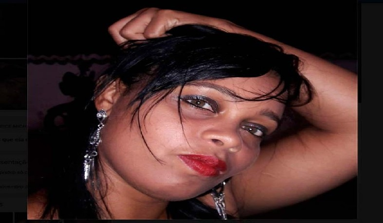 Michelle Leite Dias foi atropelada e morta no extremo sul da Bahia