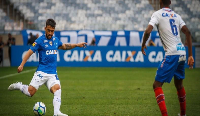 Primeiro gol da partida foi marcado pelo Tricolor baiano aos 14 min do segundo tempo
