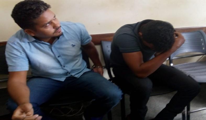 Wilias da Rocha Lopes Filho e Douglas Veríssimo de Oliveira, naturais do município de Rolim do Moura, estado de Rondônia, acusado de estelionato.