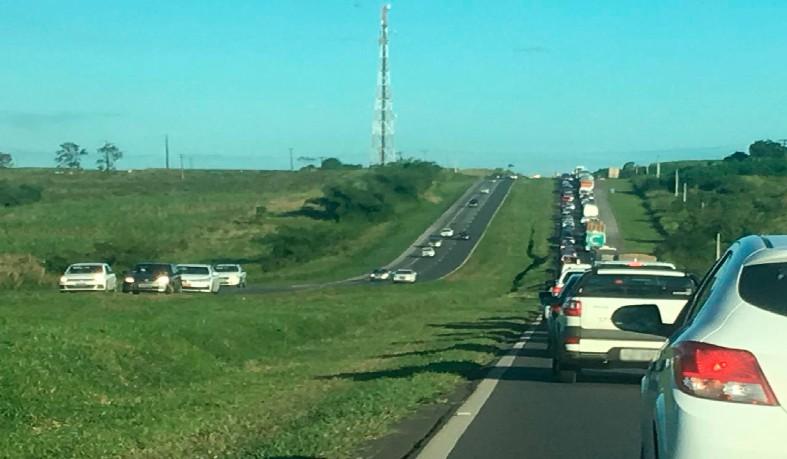 Caso ocorreu na tarde deste domingo (9), no trecho da cidade de Amélia Rodrigues, a cerca de 70 km de Salvador.